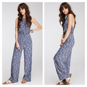Forever 21 Paisley Print Jumpsuit