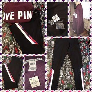 PINK Victoria's Secret Pants - BNWT VS PINK SET