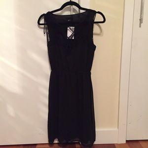 H&M Dresses & Skirts - 🆕 H&M Fringed Black Dress