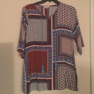Printed umgee dress