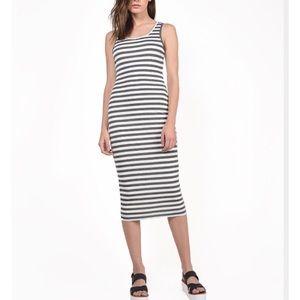 A+ Ellen Dresses & Skirts - Striped rib tank dress