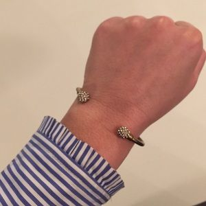 J. Crew Jewelry - Sale🇺🇸JCrew Bronze/Gold Bangle with Pave Accents