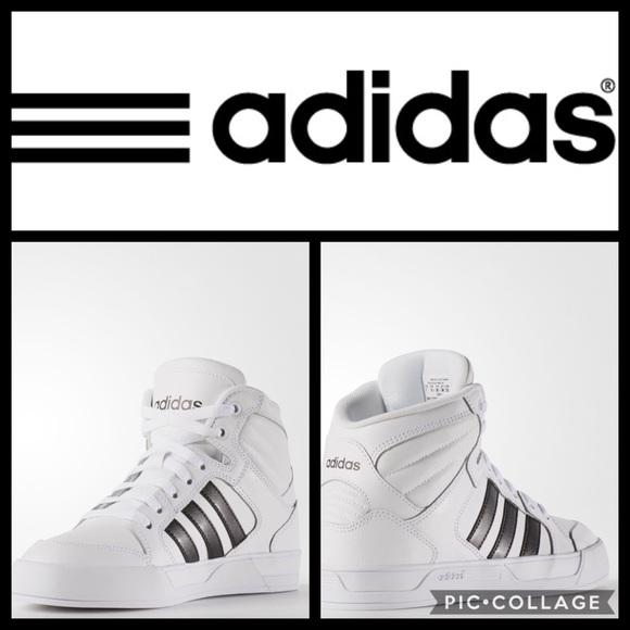 le adidas neo - raleigh metà sneakerswhtblk95 poshmark