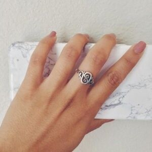 James Avery Jewelry - James Avery Spanish Swirl ring in silver!