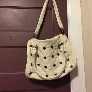 Betsey Johnson Handbags - Off white betray Johnson bag