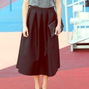 Tibi A-line midi skirt