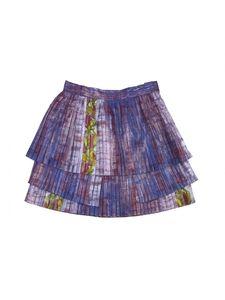 Suno Dresses & Skirts - Suno- Red & Blue Print Pleated Skirt Sz S