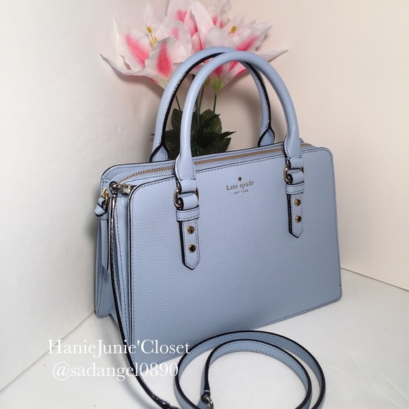 82ff5afe21 •KATE SPADE• LISE MULBERRY STREET LEATHER SATCHEL
