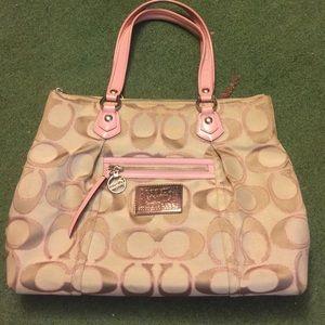 Coach bags pink poppy purse poshmark coach bags coach pink poppy purse mightylinksfo