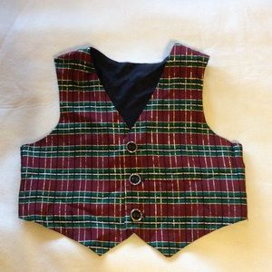 jcpenney Other - *SALE* JCPenney Baby Boy Plaid Vest