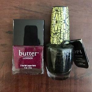 Butter London Other - Nail Polish Bundle
