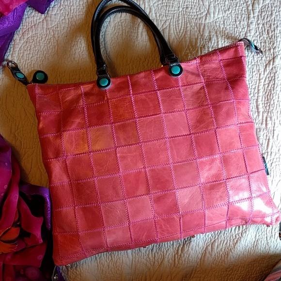 Gabs Handbags - Gabs convertable all leather bag. a013494971b6d