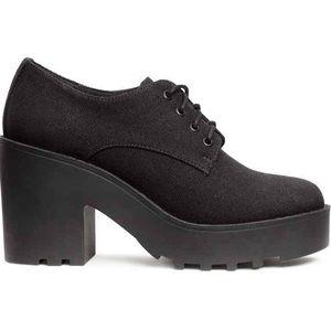 濾 H&m platform heels