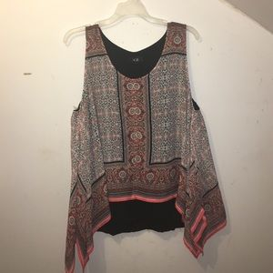 AGB Tops - NWOT Flowy Top