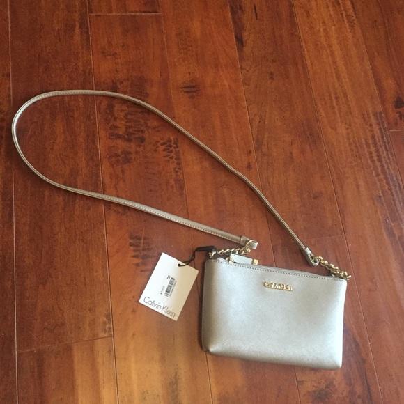 9ebb013b2bf1 Calvin Klein Bags | Mini Saffiano Leather Crossbody | Poshmark