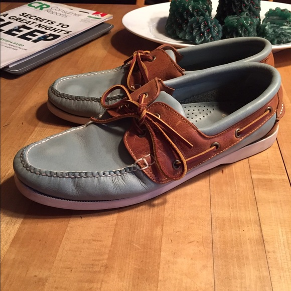 Mens Brooks Brothers Boat Shoes