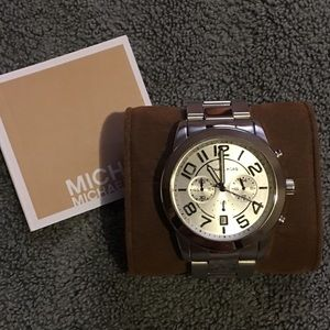 Michael Kors Other - Michael Kors silver Watch NWT