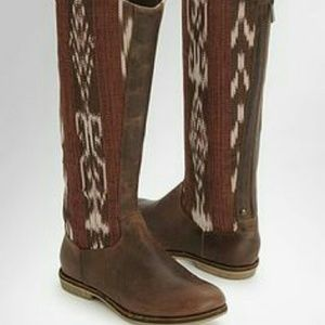 NWOB Reef leather boho boots