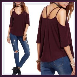 Tops - LAST ONE 🎉SALE🎉NWT Strappy criss cross top