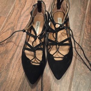 Steve Madden Shoes - Lace up Steve Madden Flats