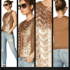 Jackets & Blazers - Bronze Leaf Vest