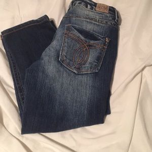 Paris Blues Denim - Paris blues crop jeans