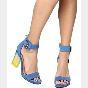 Jeffrey Campbell Shoes - Jeffrey Campbell Soiree lucite heel