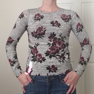 Oasis Tops - Garden Floral sweater