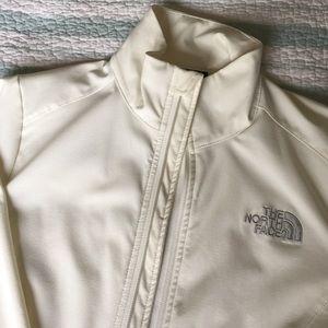 North Face Jackets & Blazers - North Face cream light jacket