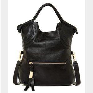 NWT Foley & Corinna Essential City bag. Black