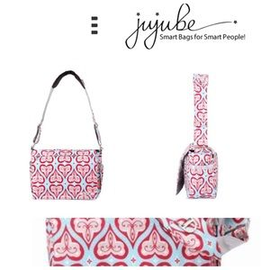 Ju Ju Be Diaper Bag Sweethearts blue red aqua