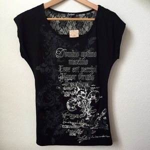 South Pole Tops - New Graphic Print T-Shirt