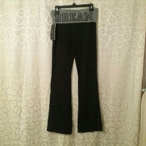 Polly & Esther Pants - NWT Fold Over Bootcut Pants Juniors Final Price