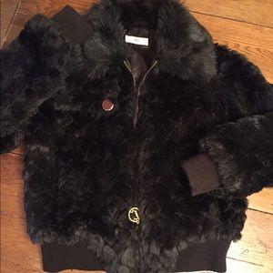 Jennifer Lopez Jackets & Blazers - Like new Jennifer Lopez Faux Fur coat
