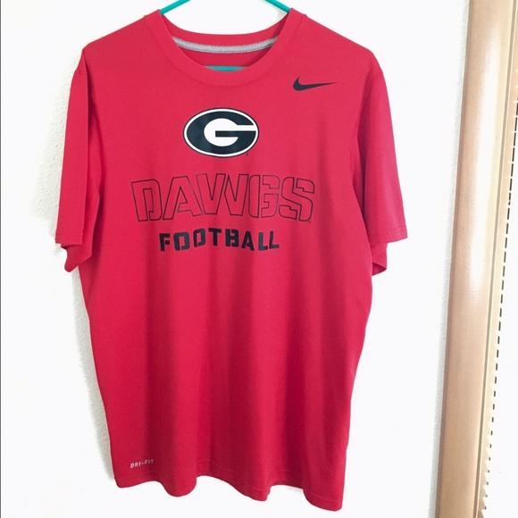 promo code 92b33 b7a57 Nike Dri-Fit Georgia Bulldogs Football Shirt