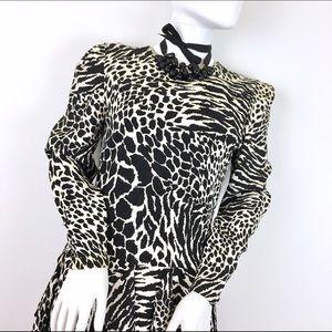 Carolina Herrera Dresses & Skirts - Carolina Herrera Vintage Animal Print Dress