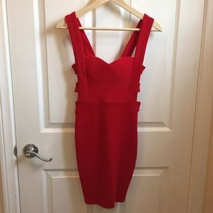 CHOISE Dresses & Skirts - [NWT] Red backless mini sexy dress from Choies🌹❤️