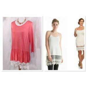Dresses & Skirts - Dress/Tunic Lace Extender-Small-3X