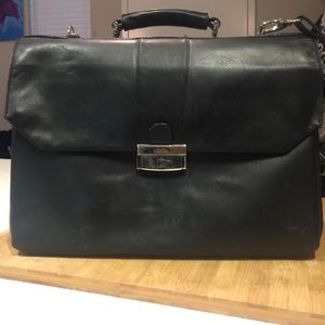 Bosca Other - BOSCA black leather men's briefcase