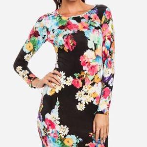 Sans Souci Dresses & Skirts - Floral Midi Dress