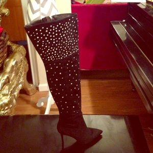 Brian Atwood Shoes - Brian Atwood boots over the knee boots.