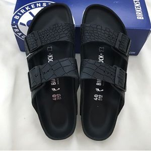 Birkenstock Shoes - Brand new exquisite Birkenstock black sandals