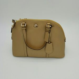 COACH PEYTON  CORA DOMED SATCHEL (F25671) GOLD