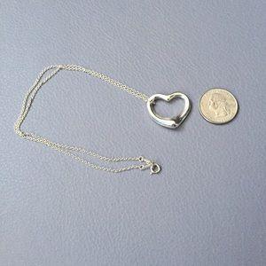Tiffany & Co. Jewelry - Tiffany Elsa Peretti open heart necklace