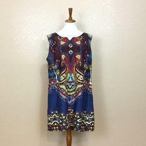 Joe Browns Dresses & Skirts - Joe Browns Bohemian Printed Sleeveless Tunic Dress