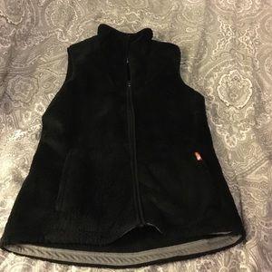 North face fleece vest