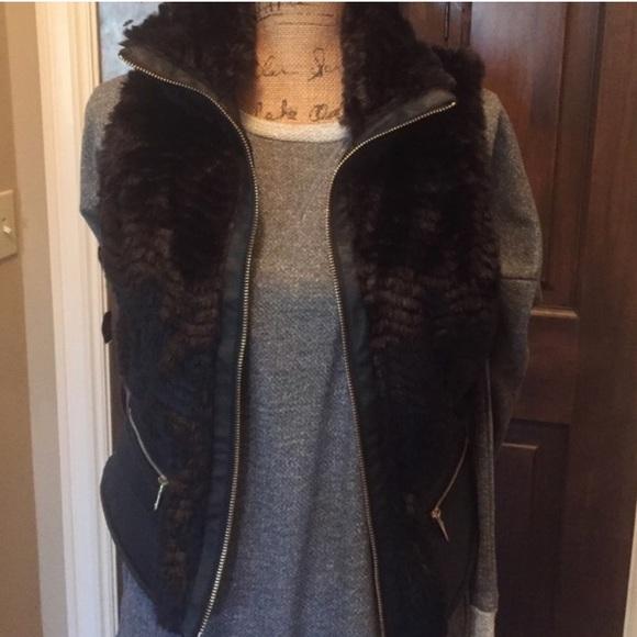 6ea80a92800 Super cute & cozy vegan black faux vegan fur vest