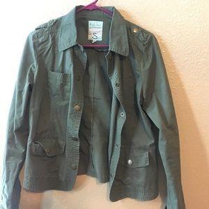 26 international  Jackets & Blazers - Olive green jacket