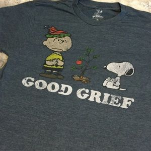 Peanuts Tops - Charlie Brown Tshirt