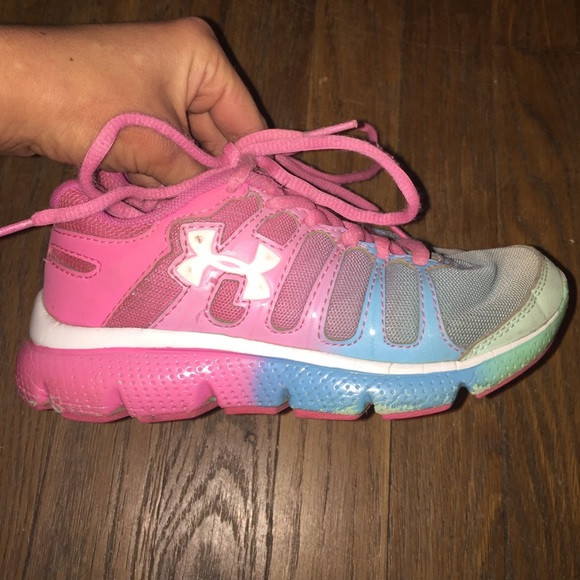 Little Girl Under Armour Sneakers Size